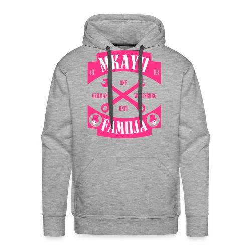 Mkay2 Familia X pink - Männer Premium Hoodie