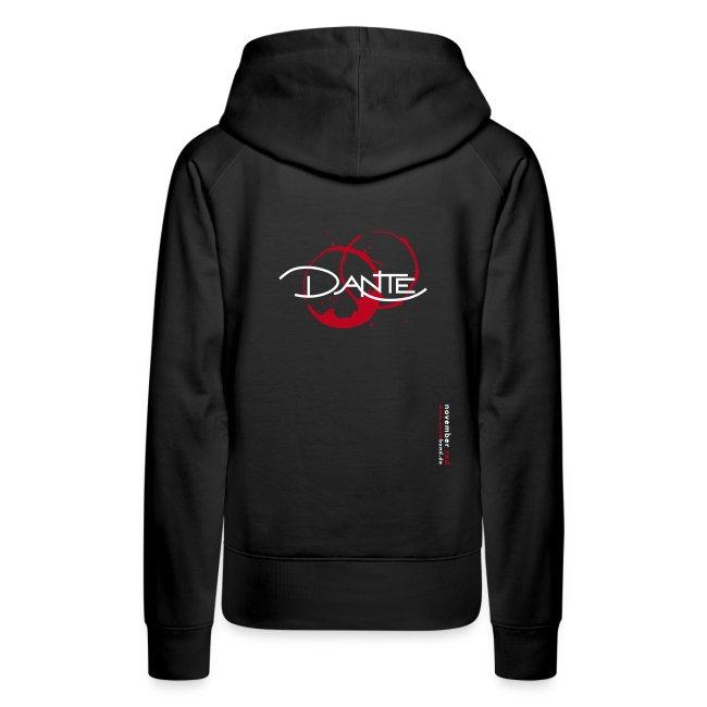 DANTE Women Hoodie black/red