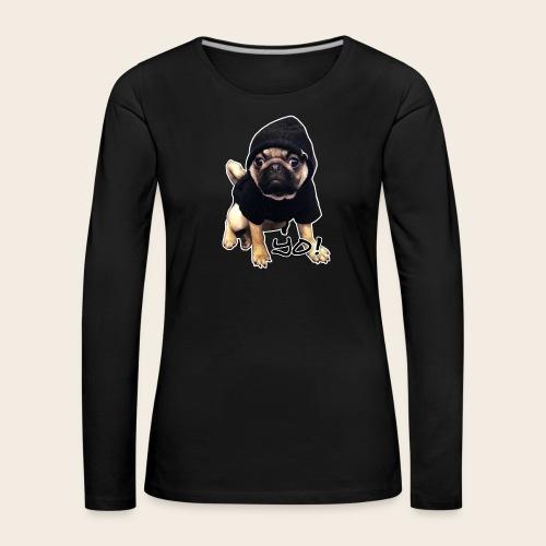 Yo Mops - Langarmshirt - Frauen Premium Langarmshirt