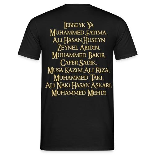 Lebbeyk ya Ahlulbayt - Männer T-Shirt