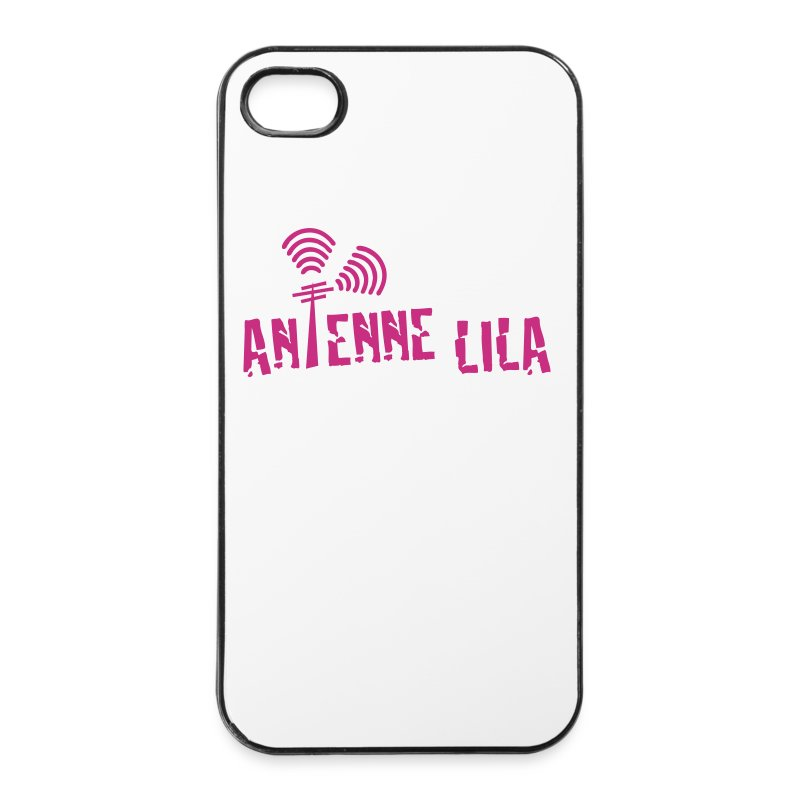 logo_quer_weiss_1c - iPhone 4/4s Hard Case