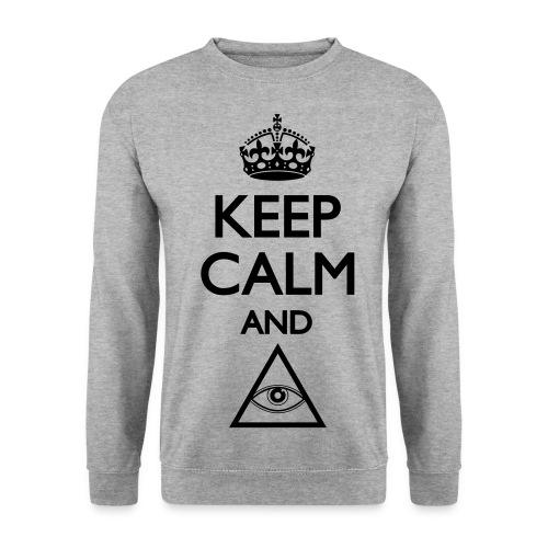 Keep Calm - Men - Sweat-shirt Homme