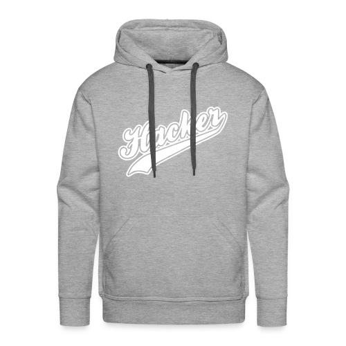 Hacker - Men - Sweat-shirt à capuche Premium pour hommes