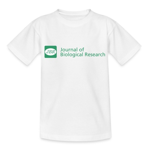 Journal of Biological Research-Thessaloniki Men's t-shirt - Teenage T-Shirt