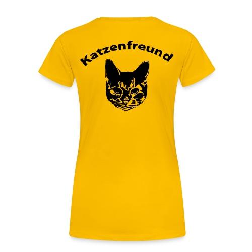 Katzenfreund - Frauen Premium T-Shirt