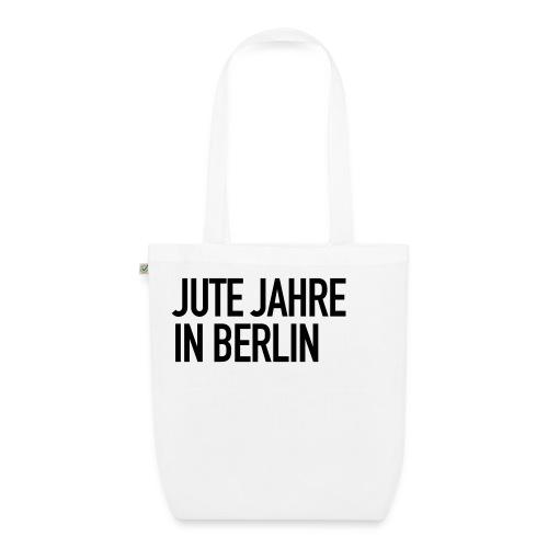 Jute Jahre in Berlin - White - Bio-Stoffbeutel