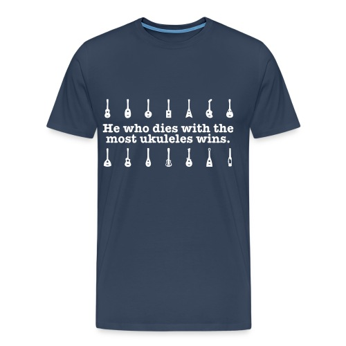 Ukulele T-shirt - light print - Men's Premium T-Shirt