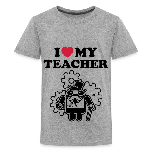 School! - Premium-T-shirt tonåring