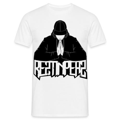 Reztinpeaz Logo(SCHWARZ) MEN - Männer T-Shirt