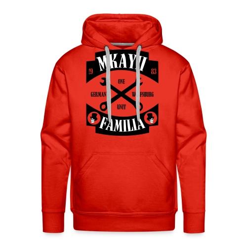 Mkay2 Familia X weißschwarz - Männer Premium Hoodie