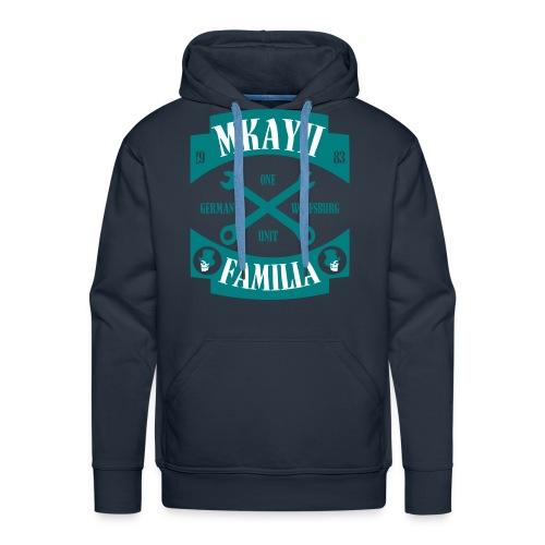 Mkay2 Familia X emerald - Männer Premium Hoodie