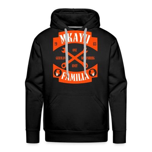 Mkay2 Familia X orange - Männer Premium Hoodie