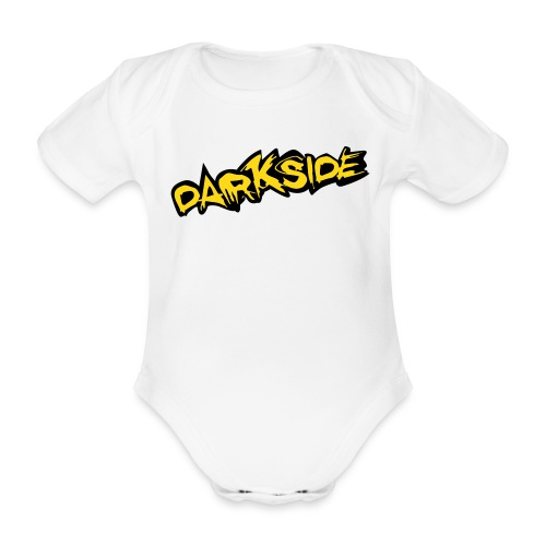 3 Month Baby Vest - Darkside - Organic Short-sleeved Baby Bodysuit