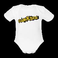 Baby Bodysuits ~ Baby Bodysuit ~ 3 Month Baby Vest - Darkside 2