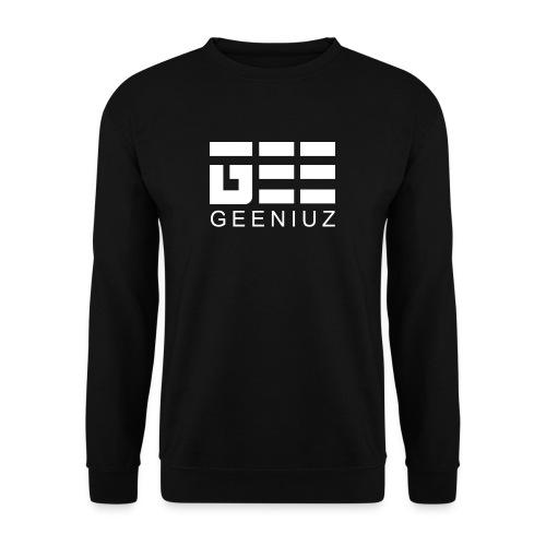 Black Gee Pullover White Logo  - Männer Pullover