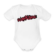 Baby Bodysuits ~ Baby Bodysuit ~ 3 Month Baby Vest - Darkside 3