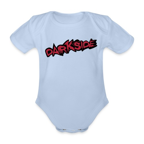 3 Month Baby Vest - Darkside 3 - Organic Short-sleeved Baby Bodysuit