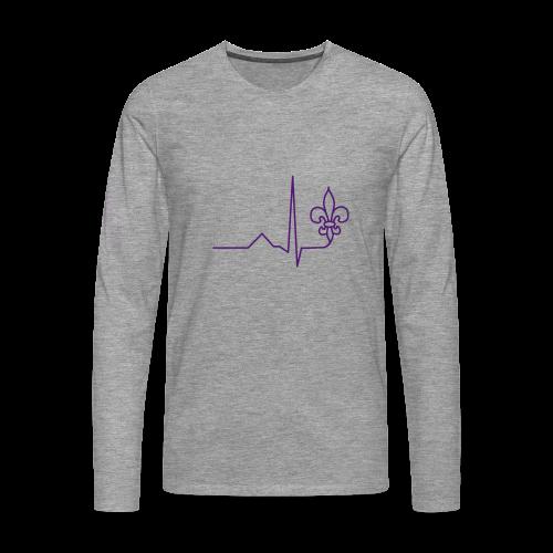 Scouting is Heartbeat - Longsleeve - Men's Premium Longsleeve Shirt