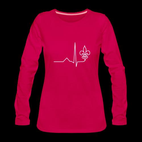 Scouting is Heartbeat - Longsleeve - Women's Premium Longsleeve Shirt