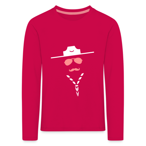 Moustache - Longsleeve - Kids' Premium Longsleeve Shirt