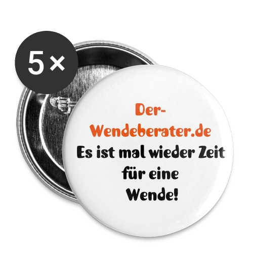 Wendeberater Button groß - Buttons groß 56 mm