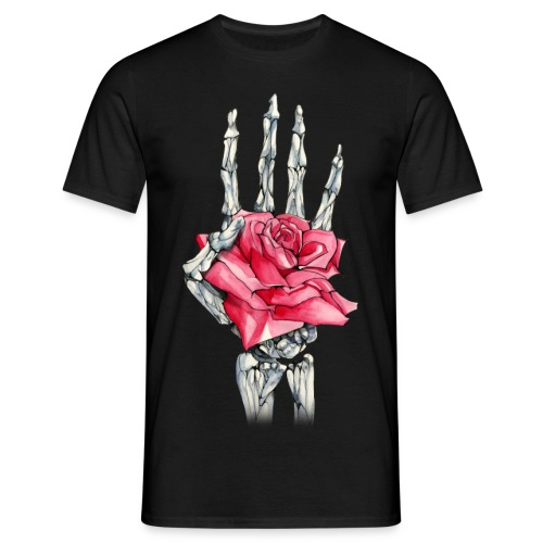 Mortality Rose - Männer T-Shirt