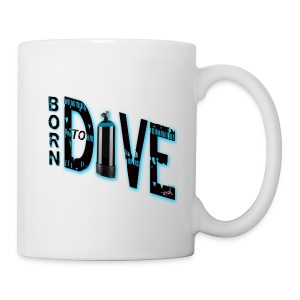 Born to dive - Tasse
