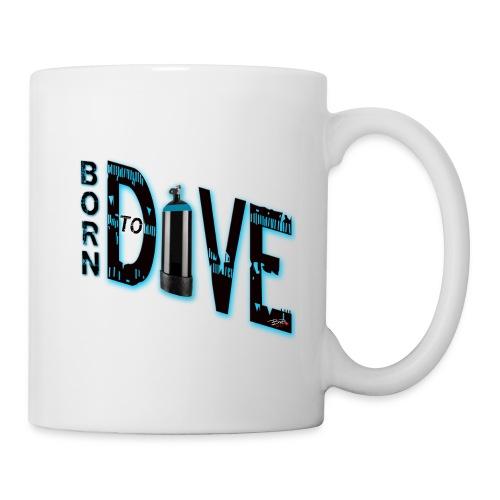Born to dive - Tasse