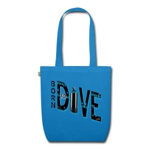 Born to dive - Bio-Stoffbeutel