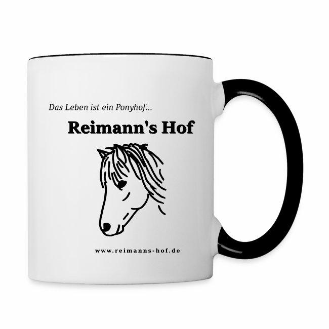 Tasse 'Reimann's Hof' - Islandpferd -