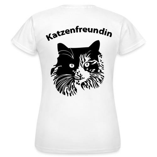 Katzenfreundin - Frauen T-Shirt