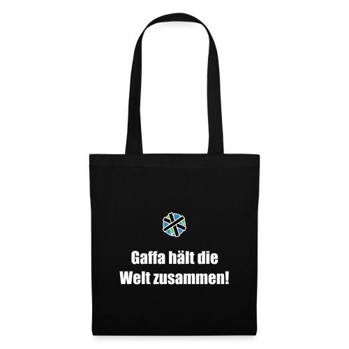 Gaffa hält die Welt zusammen - Tasche - Stoffbeutel