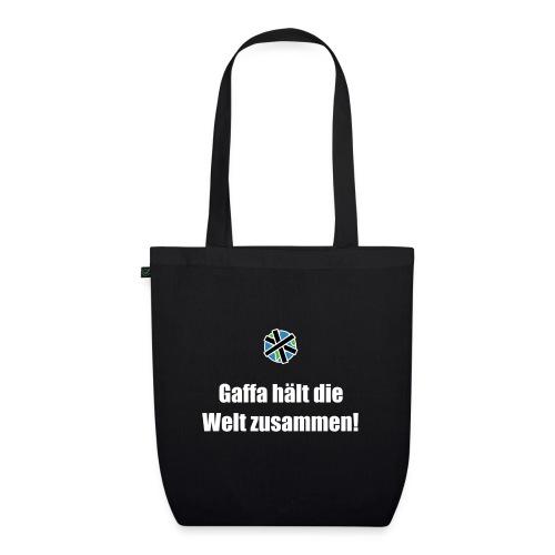 Gaffa hält die Welt zusammen - Bio Tasche - Bio-Stoffbeutel