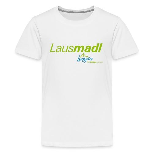 Lenggries - Lausmadl - Teenager Premium T-Shirt