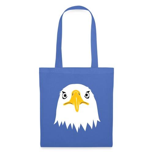 adler eagle adlerauge weßkopf seeadler vogel adlerkopf  T-Shirts - Stoffbeutel