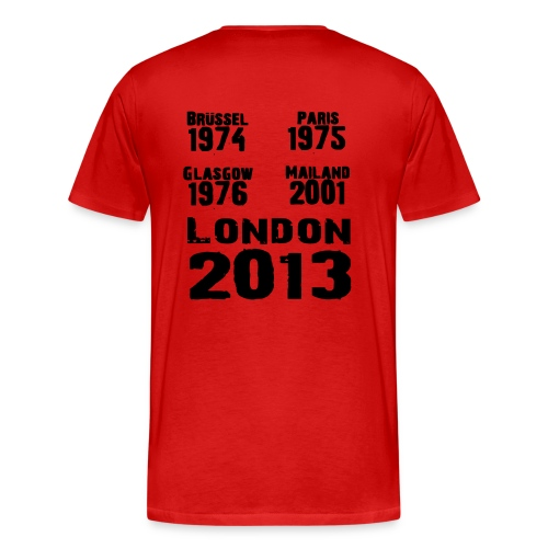 Europokalsieger Hoodie - Männer Premium T-Shirt