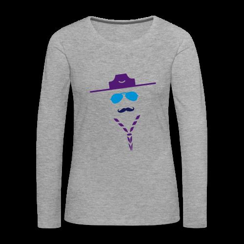 Moustache - Longsleeve - Women's Premium Longsleeve Shirt