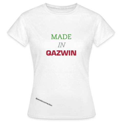 MADE IN QAZWIN - Frauen T-Shirt