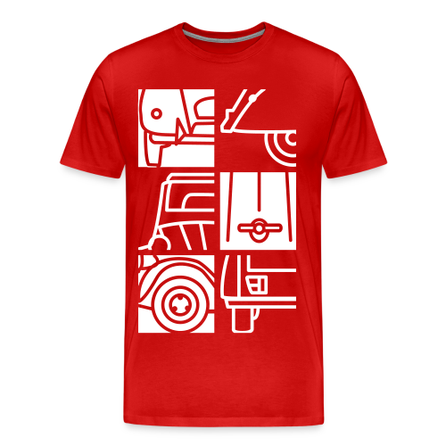 Divers Angles - T-shirt Premium Homme