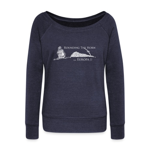 Rounding the Horn Women's Sweatshirt - Women's Boat Neck Long Sleeve Top