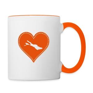 TASSE Bodensee orange - Tasse zweifarbig