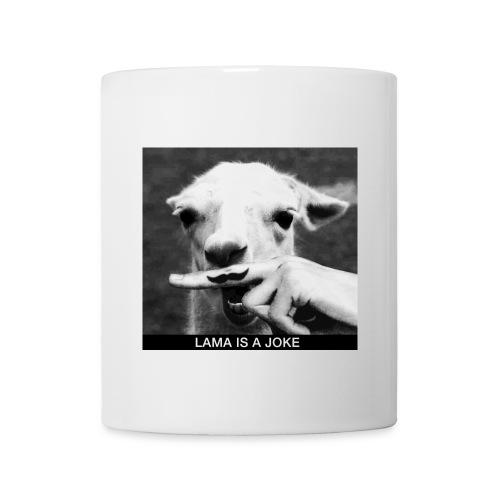 Tasse / Mug - Lama is a joke - Mug blanc