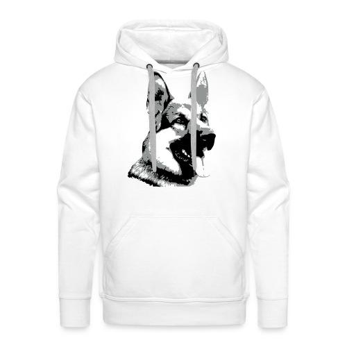 Dessin Berger allemand - Sweat-shirt à capuche Premium pour hommes