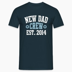 NEW DAD CREW Established 2014 2C T-Shirt NV