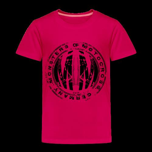 Stamp # Monsters of Motocross - Kinder Premium T-Shirt