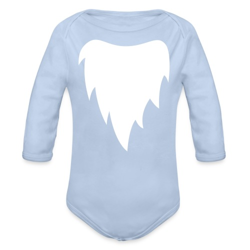 Gnome - baby bodysuit (flockprint)  - Baby bio-rompertje met lange mouwen