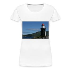 T-skjorte Dame - Premium T-skjorte for kvinner