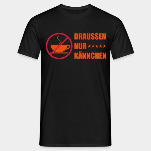 Nur Kännchen (2-farbig) - Männer T-Shirt