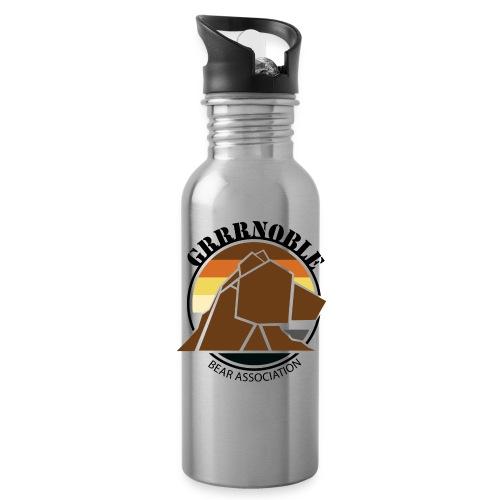 Gourde grise Logo Grrrnoble Bear Association - Gourde