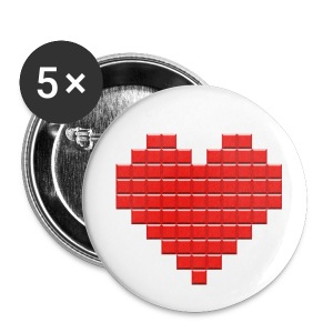 TetrisLove Button - Buttons klein 25 mm